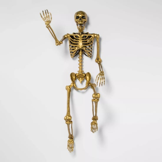 Target Is Selling a Life-Size Gold Skeleton For Halloween
