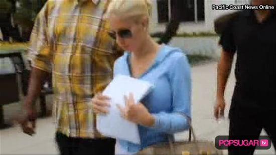 New Video of Heidi Montag Filing Legal Separation From Spencer Pratt