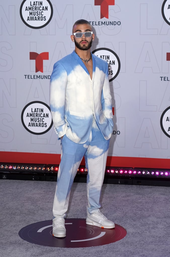 The Best 2021 Latin AMAs Men's Looks on the Red Carpet
