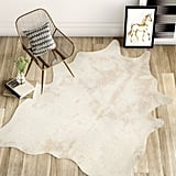 Cyrus Faux Cowhide Area Rug