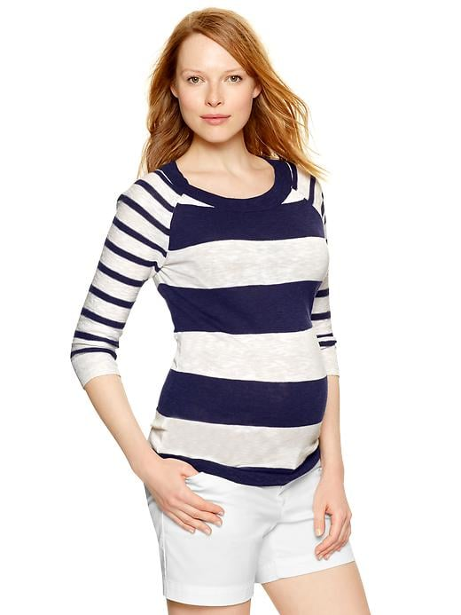 Gap Striped Raglan Pullover