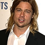 Yowza! Brad's hair was the stuff of legends during a Beverly Hills charity event in April 2003.