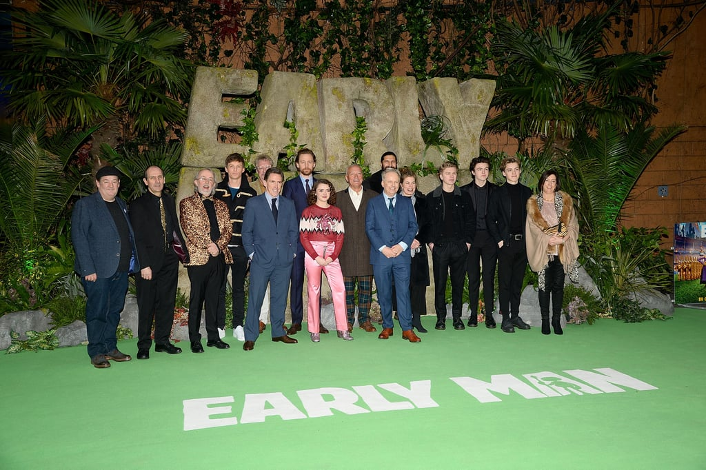 Tom, Maisie, and Eddie Make the Perfect Trio at the Early Man Premiere