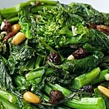 Broccoli Rabe With Raisins and Pine Nuts