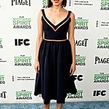 Aubrey Plaza at the 2014 Spirit Awards
