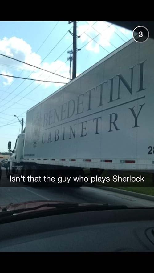 Benedict Cumberbatch, Is That You?