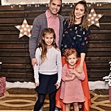 The pair posed with their precious family at the Baby2Baby holiday party in December 2015.