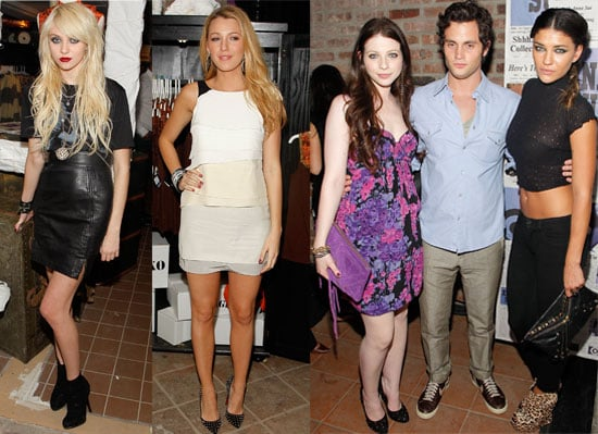Anna Sui and Gossip Girl Party In New York