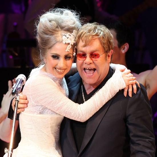 Lady Gaga Is Godmother to Elton John's Son