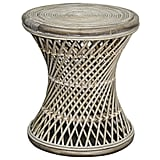 New Pacific Direct Keala Rattan Round Stool