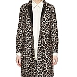 Theory Dafina Leopard-Print Coat ($2,395)