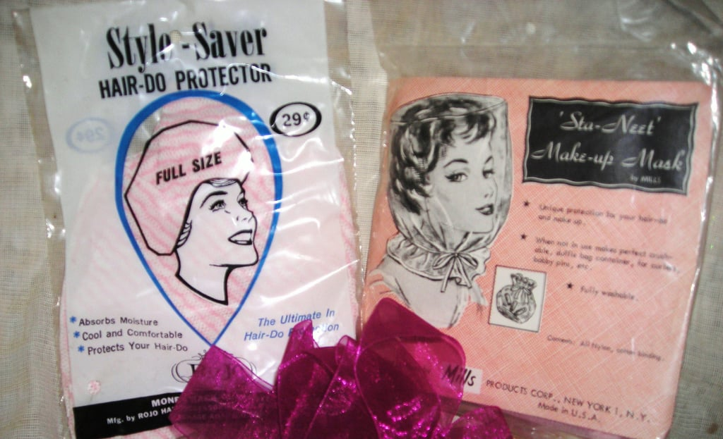 1960s Hair-Do Protector and Makeup Mask