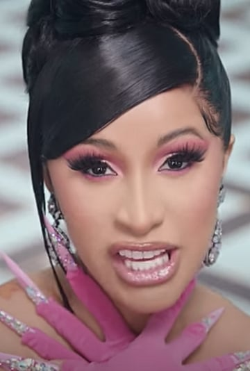 Cardi B and Megan Thee Stallion WAP Music Video Beauty Looks