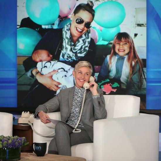 Ellen DeGeneres Calls Pink January 2017
