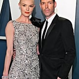 Kate Bosworth and Michael Polish at the Vanity Fair Oscars Party