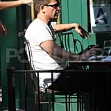 Josh Hartnett Treats Himself to a Low-Key Lunch With Two Ladies