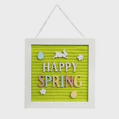 Happy Spring Easter Letterboard