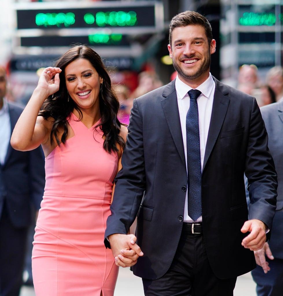 The Bachelorette's Becca and Garrett on Good Morning America