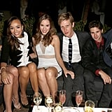 The cast of Revenge, Emily VanCamp, Ashley Madekwe, Christa B. Allen, Connor Paolo, Gabriel Mann, and Joshua Bowman, partied together at GQ's afterparty.