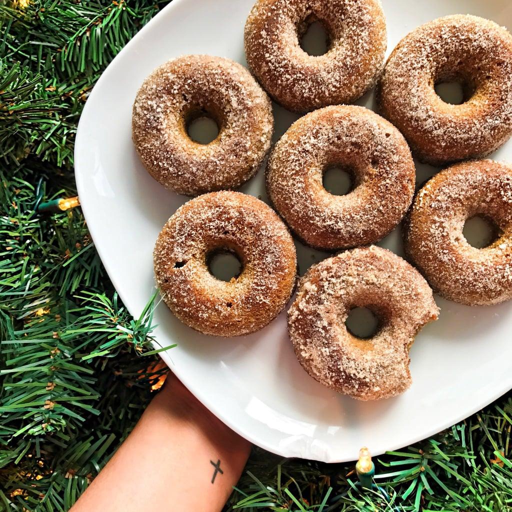 Gingerbread Keto Doughnuts