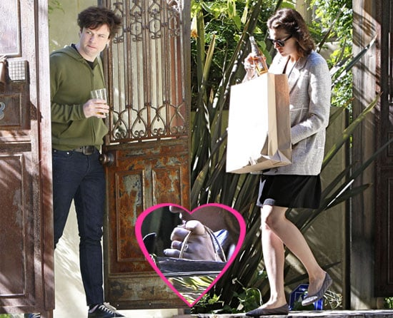 Photos of Mandy More and Fiance Ryan Adams in LA