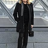 Catherine Deneuve at Louis Vuitton Fall 2019