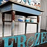 DIY Frozen Sign