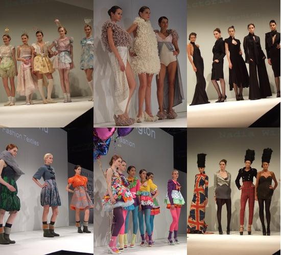 Somerset and Northampton at Graduate Fashion Week