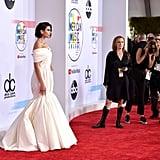 فستان دوا ليبا في حفل جوائز الموسقى الأمريكية 2018