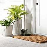 Oversize Braided Doormat