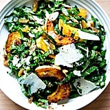 Collard Green Salad With Roasted Delicata Squash