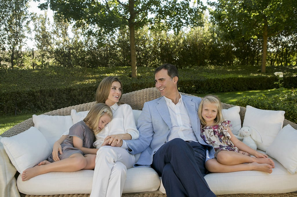 She gave birth to Princess Leonor in 2005 and Infanta Sofía in 2007. She and Prince Felipe met briefly at a dinner party in 2001, but didn't start dating until the following year when they met again at the site of an oil spill. Letizia was covering the disaster, and Felipe was offering support to the local community. In 2008, she underwent surgery on her nose. The palace stated the operation was to correct a respiratory problem. She's a strict mother — no TV, tablet or internet from Monday to Friday, she recently revealed at one of her engagements. She flew to Iraq to cover the war and New York to report on 9/11, and won many journalistic prizes including Madrid Press Association's Larra Award for most accomplished journalist under 30.