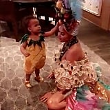 Chrissy Teigen and John Legend Halloween Costume 2017