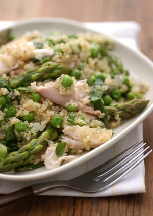 Monday's Leftovers: Quinoa Primavera With Chicken