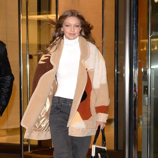 Gigi Hadid Two-Sided Jeans