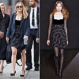 Elizabeth Olsen Wearing Roland Mouret Fall '16