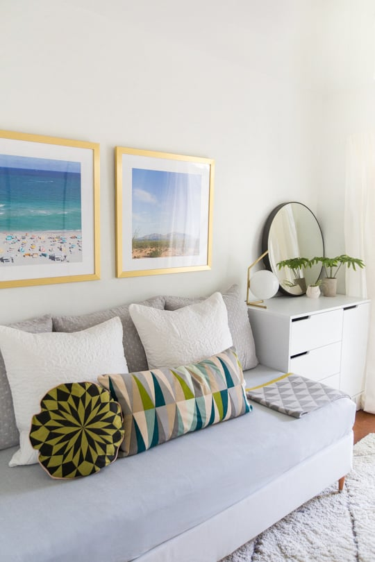 Turn Your Bed Into A Couch How To Make A Dorm Into A Tiny Apartment Popsugar Home Photo 1