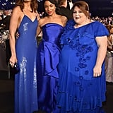 Pictured: Mandy Moore, Susan Kelechi Watson, and Chrissy Metz