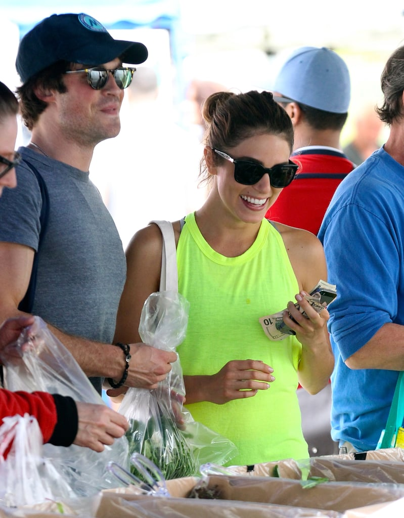 Ian Somerhalder Showers Nikki Reed With Affection