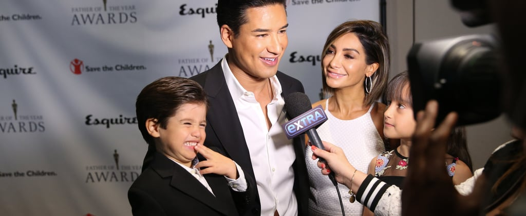 Mario Lopez's Kids Talk About Gas During Interview 2018