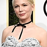 Michelle Williams Proved That Chokers Are Elegant Enough For the Red Carpet