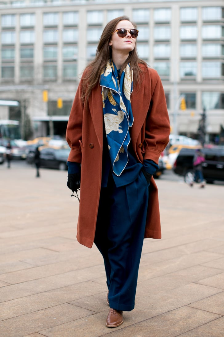 Nyfw Street Style Day 3 Best Street Style At New York Fashion Week Fall 2014 Popsugar