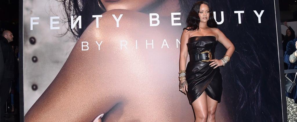Rihanna's Fenty Beauty Body Lava Look