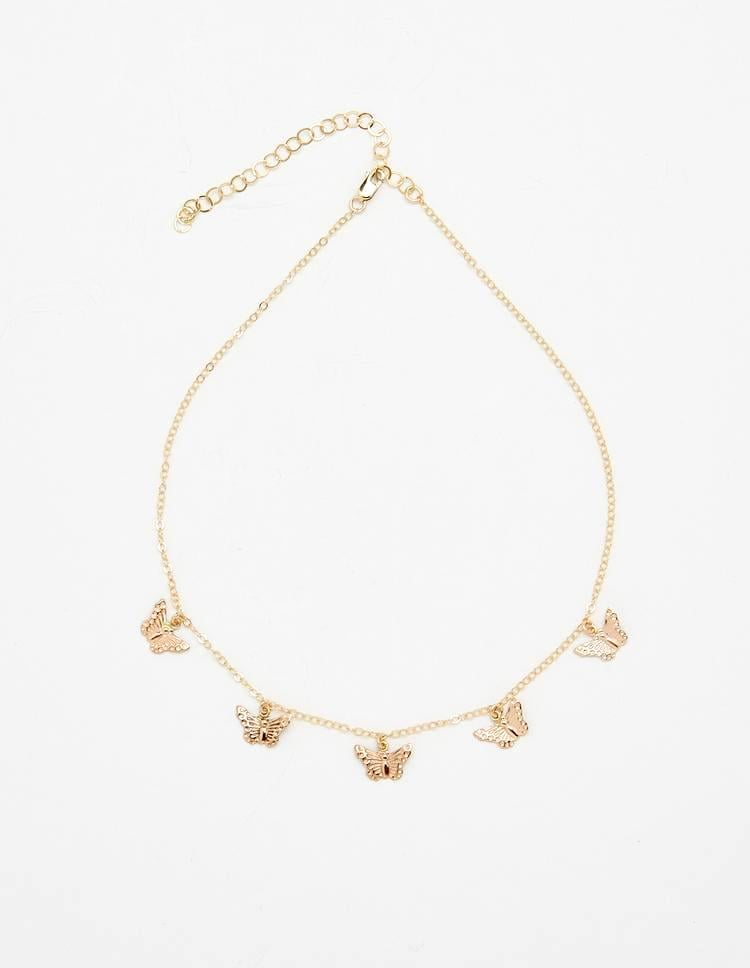 Channel your inner Crazy Town with this Bagatiba Butterfly Choker ($162).