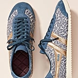 Gola Leaf-Printed Sneakers