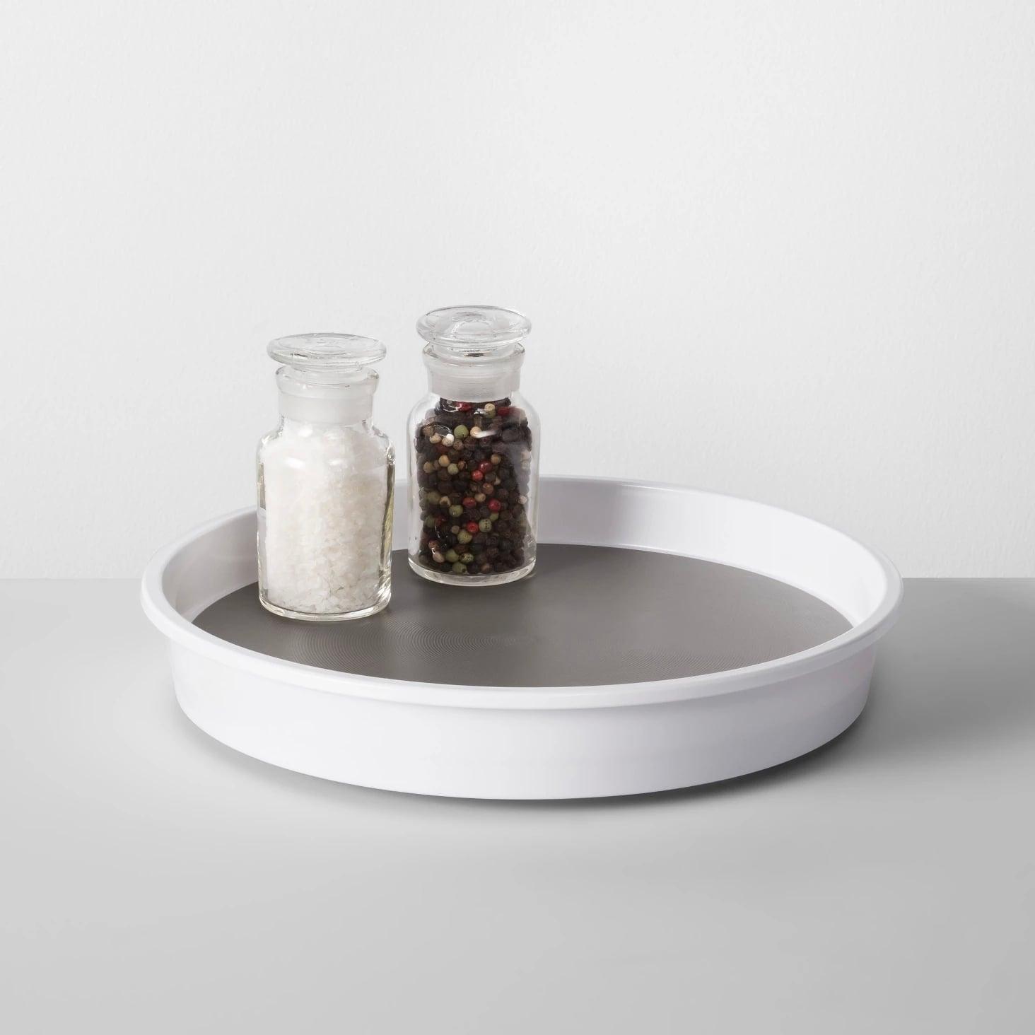 Kitchen Cabinet Turntable in White | 50 Organization ...