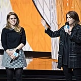 The sisters presented at the We Day UK celebration in March 2018.