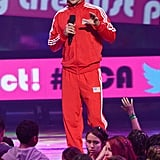 Josh Duhamel took the stage to host the Kids' Choice Awards in LA.
