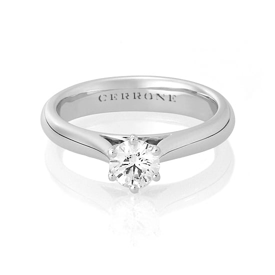 White gold and diamond ring, approx $5,000, Cerrone