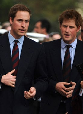 Sugar Bits — William and Harry to Join Motorbike Rally